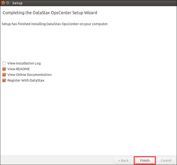 Process to Download & Install DataStax OpsCenter