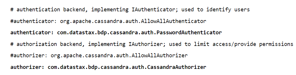 Cassandra SECURITY - Create User  & Authentication With JMX