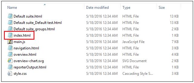 XSLT Report in Selenium