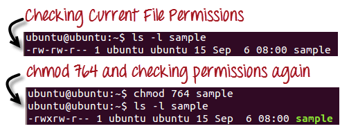 File Permissions in Linux/Unix