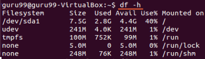 Managing Processes in Linux/Unix: top, ps, kill, df, free, nice