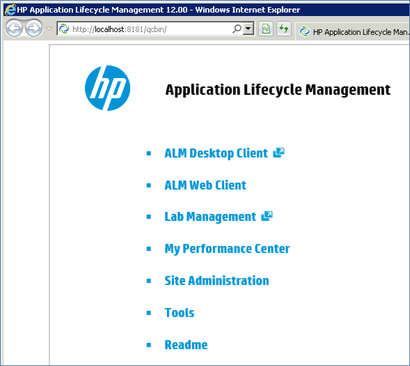 how to download install hp alm quality center rh guru99 com HP Load Runner Screen Shot HP QC
