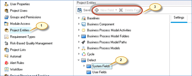 How to customize your ALM project