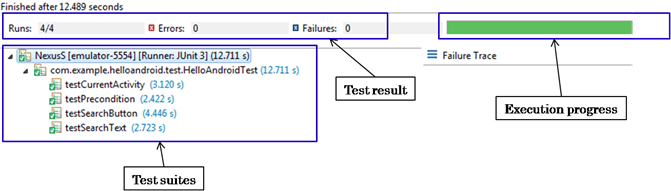 Your First Test with Android Testing Framework