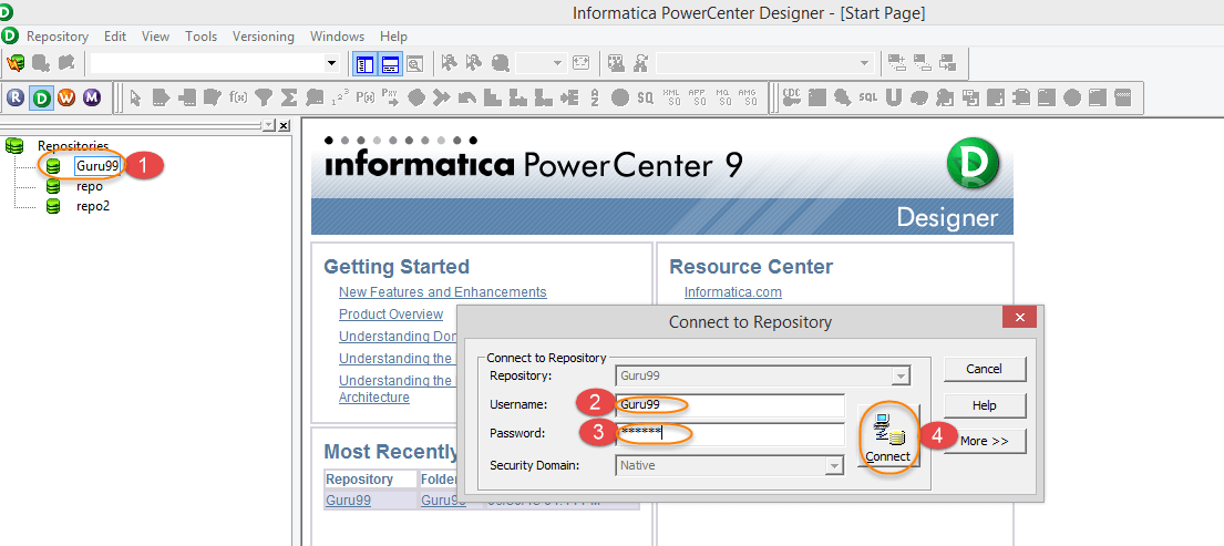 Source Analyzer and Target Designer in Informatica