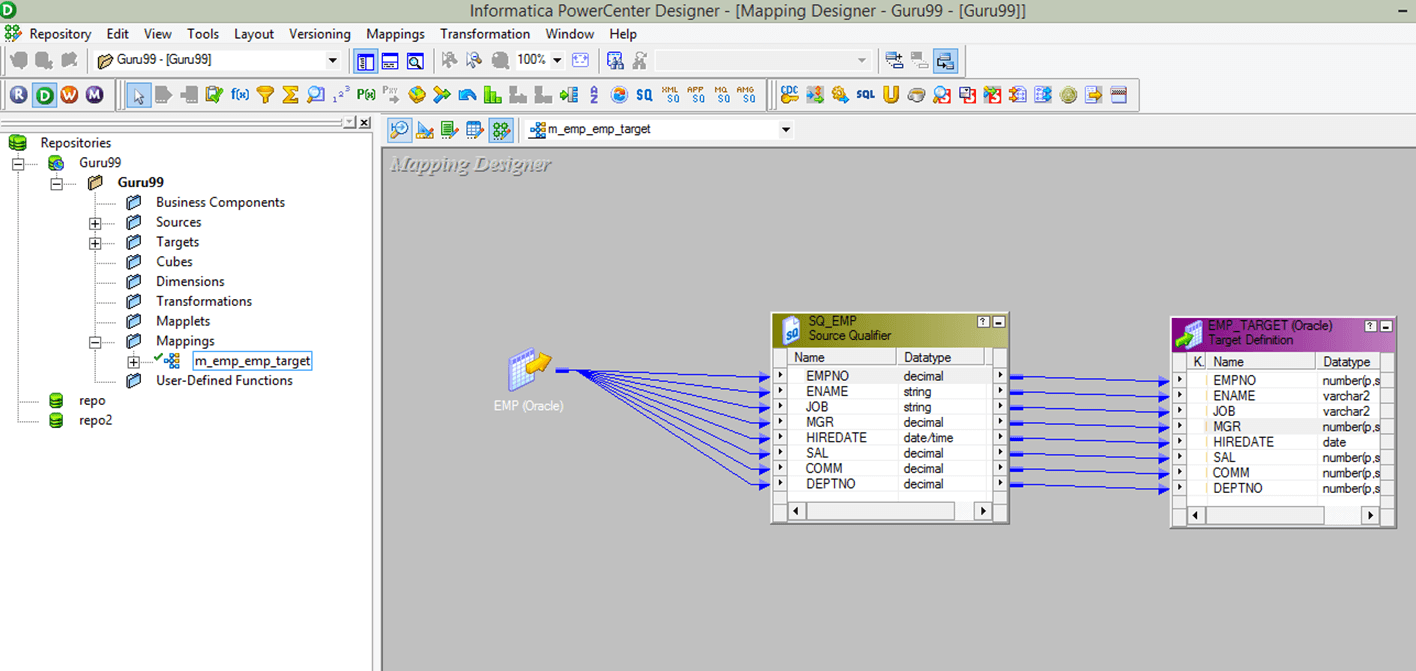 Debugger in Informatica: Session, Breakpoint, Verbose Data & Mapping