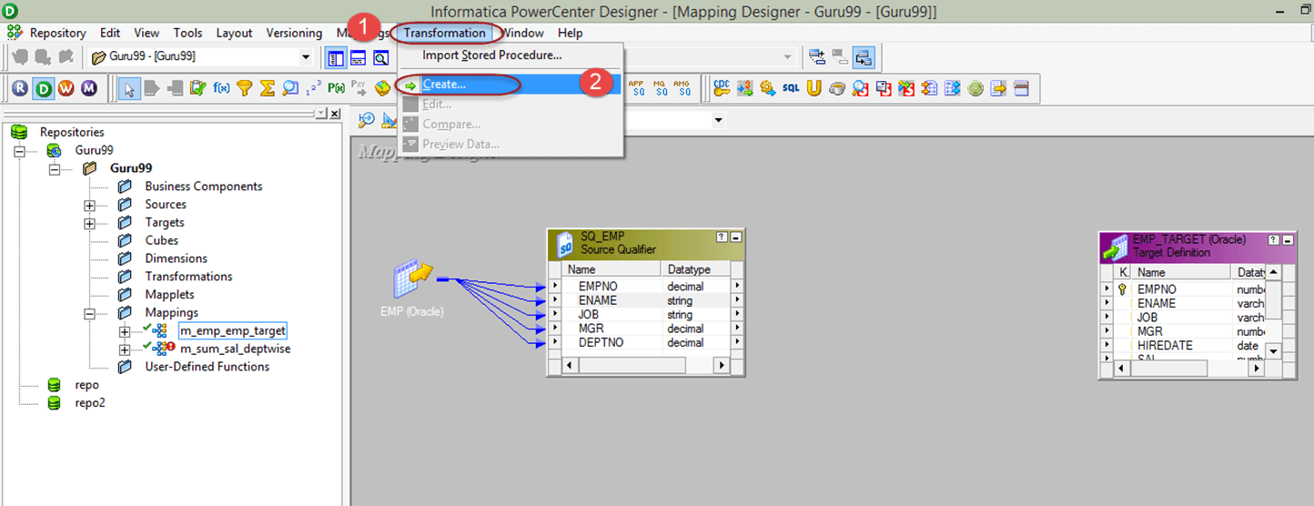 Router Transformation in Informatica with EXAMPLE