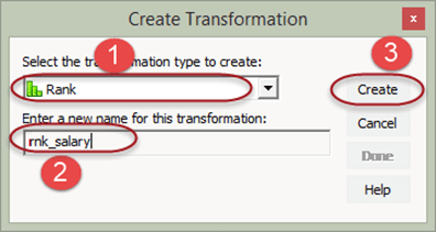 Rank Transformation in Informatica with EXAMPLE