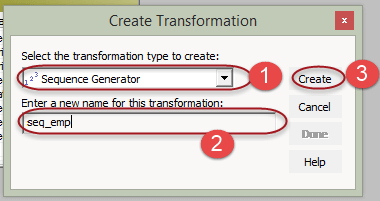 Sequence Transformation in Informatica with EXAMPLE