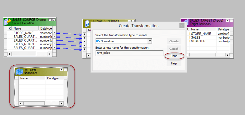 Normalizer Transformation in Informatica with EXAMPLE
