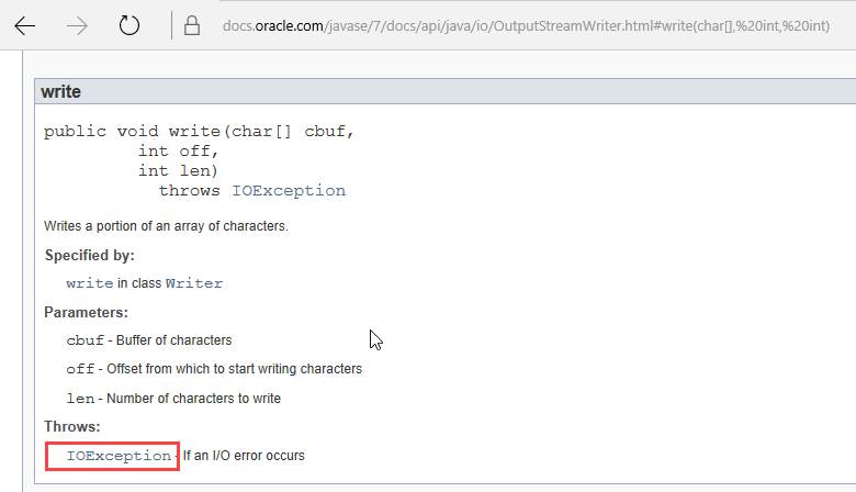 Throws Keyword in Java with Example
