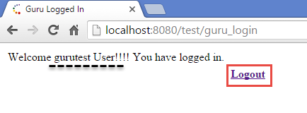 How to write code for logout page in jsp