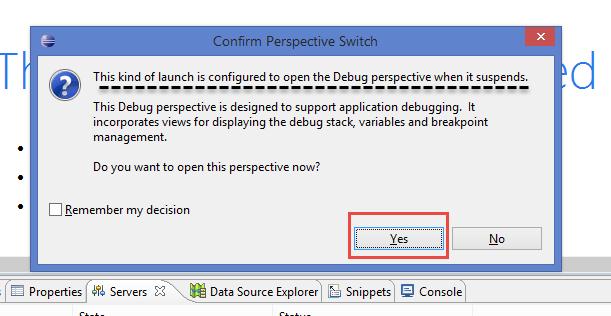 JSP Debugging Using Debugging Tools