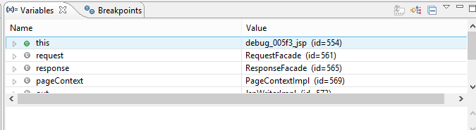Debugging in JSP Using Debugging Tools