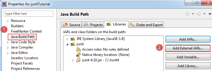 How to Download and Install JUnit in Eclipse