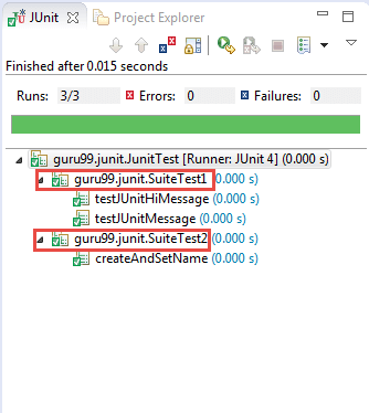 Create JUnit Test Suite