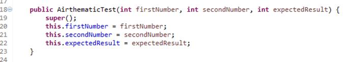 JUnit Parameterized Test