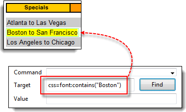 Locators in Selenium IDE: CSS Selector, DOM, XPath, Link