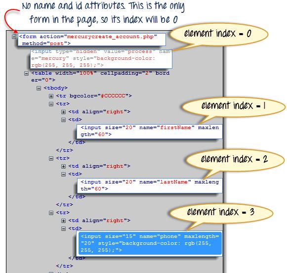 locator37 Java Form Example on parallel arrays, array for loop, decimal format, data members,