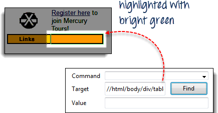 Locators in Selenium IDE: CSS Selector, DOM, XPath, Link Text, ID