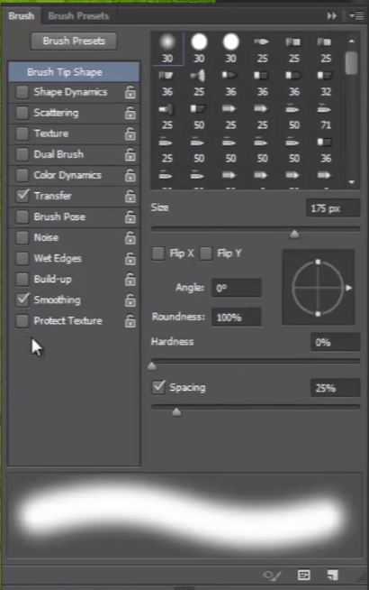 Photoshop Brush Tool