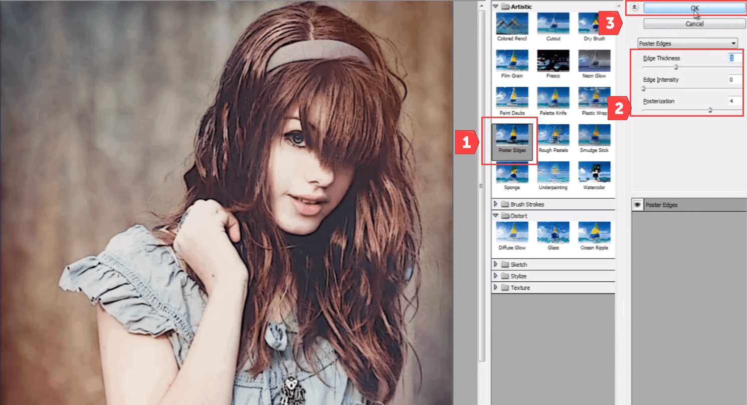How to use Filters & Effects in Photoshop