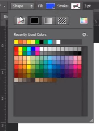 Photoshop Shape Layer