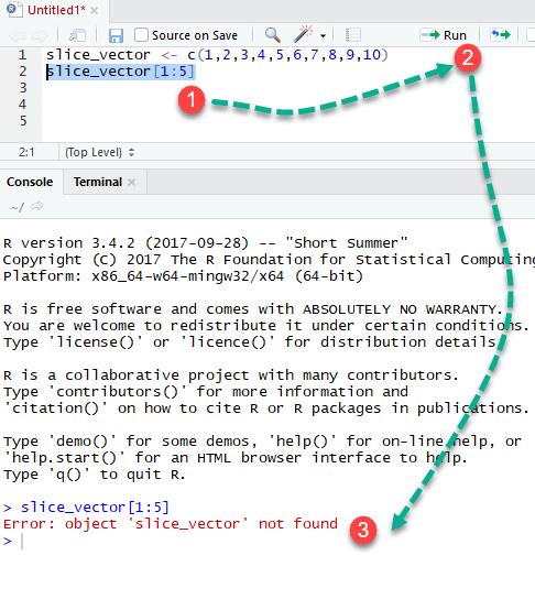Running R code in RStudio