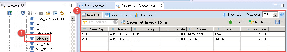 SAP HANA Flat File Upload Tutorial: CSV, XLS & XLSX