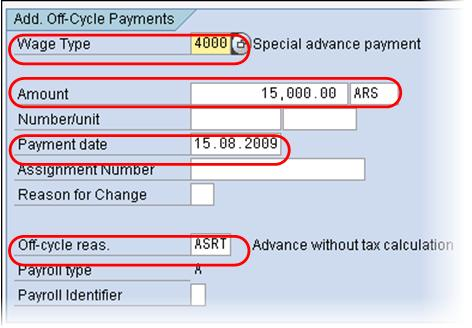 What is Off Cycle Payroll? SAP IT267