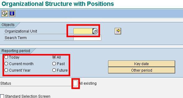 How to display Organizational Structure with Positions