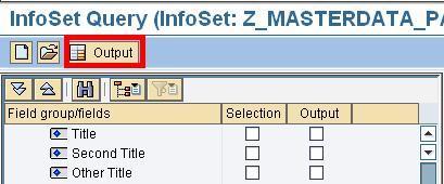 SAP AD Hoc Query