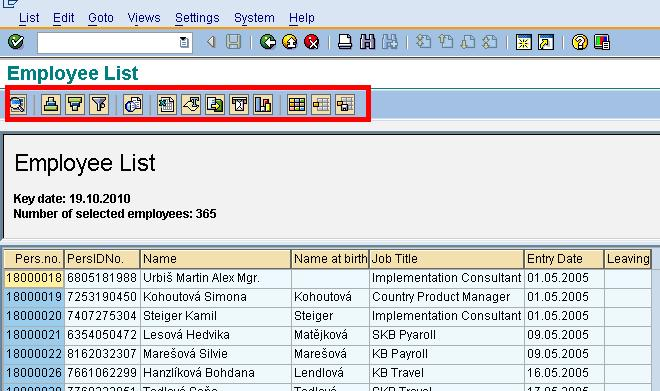 How to Execute SAP Reports