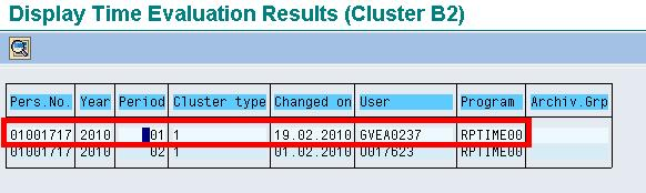 SAP PT66: How to Check Time Evaluation Results RPTIME