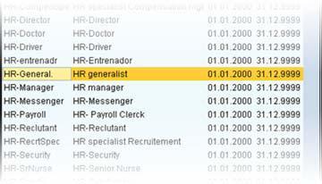 sap om assign job to position