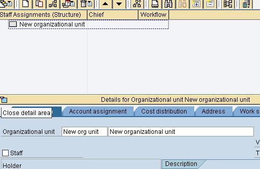 SAP PPOCE: How to create an Organizational Unit