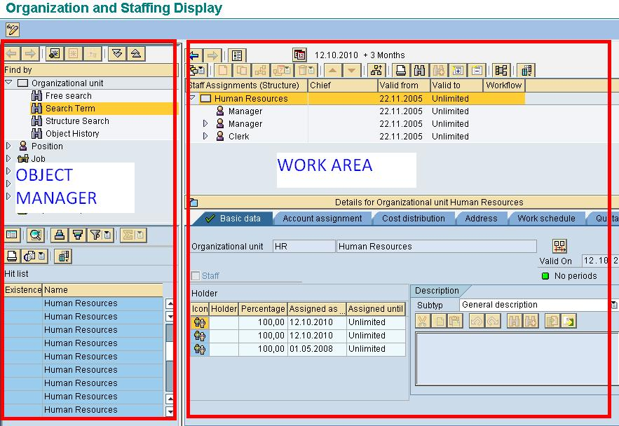 Sap Ppoce How To Create An Organizational Unit