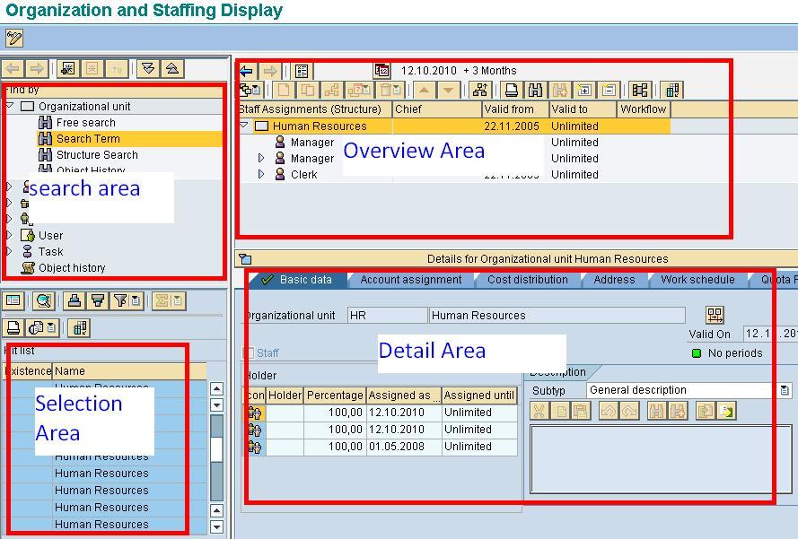 sap ppoce how to create an organizational unit rh guru99 com HCM SAP Versions SAP HCM Logo