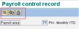 SAP Training Hub- Control Record Buttons
