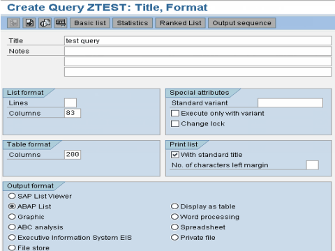 ABAP Query Tutorial in SAP: SQ01, SQ02, SQ03