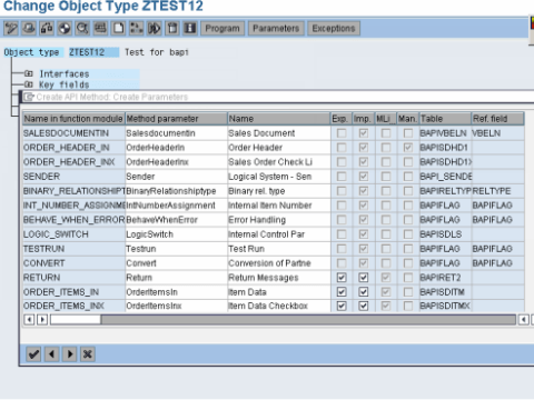 SAP BAPI Tutorial - Step by Step Guide to Create BAPI in ABAP