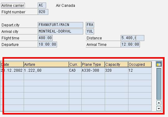 SAP ABAP Table Control with Examples