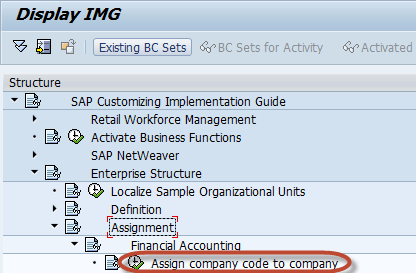How To Create A Company Code In Sap Ign