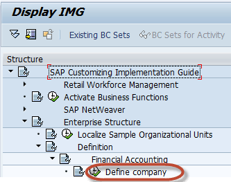 How to Create a Company in SAP