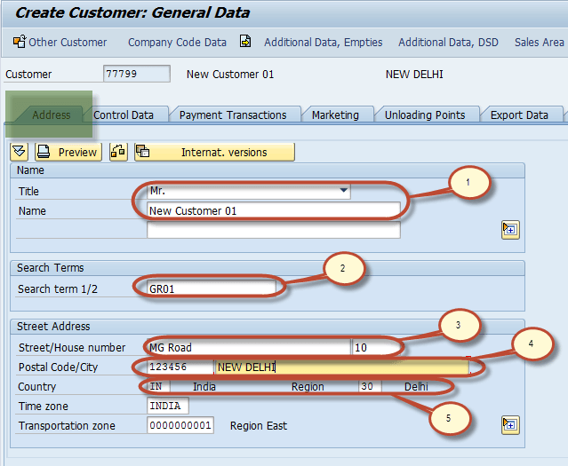 Customer Master Data Tutorial: Create, Display, Block, Delete in  SAP