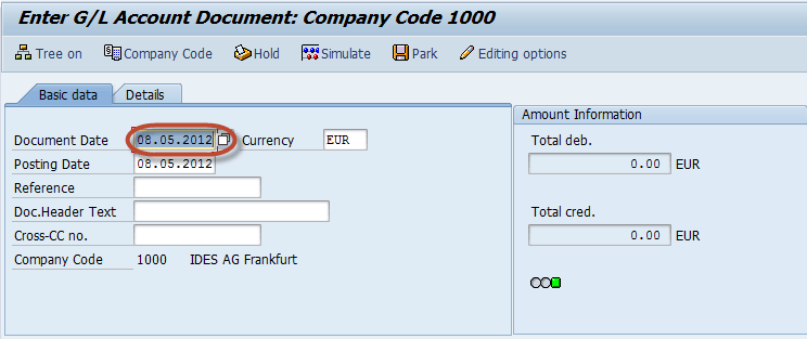 How To Perform A Journal Entry Posting Fb50 In Sap