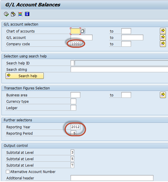 Important Reports in SAP FI
