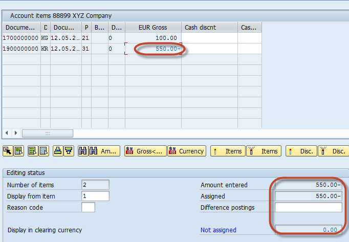 How to post Outgoing Vendor Payment F-53 in SAP