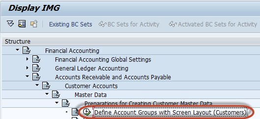 How To Create Customer Account Group In Sap