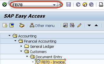 How to Post Foreign Currency Invoice FB70 in SAP